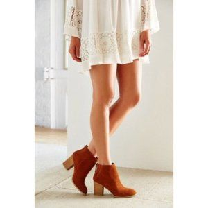 Ecote Urban Outfitters Suede Ankle Boots